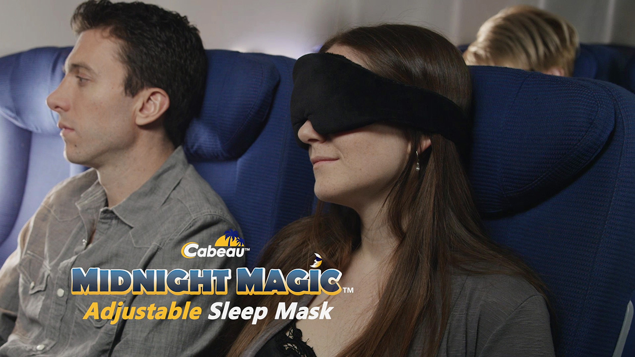 travel sleep mask live video streaming production los angeles icorptvlive video streaming. Black Bedroom Furniture Sets. Home Design Ideas