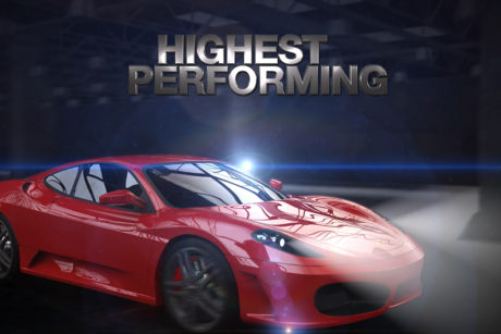 3D animation of a car created for a promotional product video
