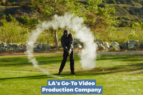 a social media advertisement for a Los Angeles video production company